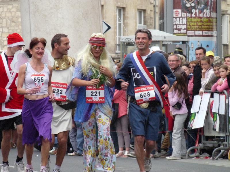Les foulées des bistrots de Caen 2012