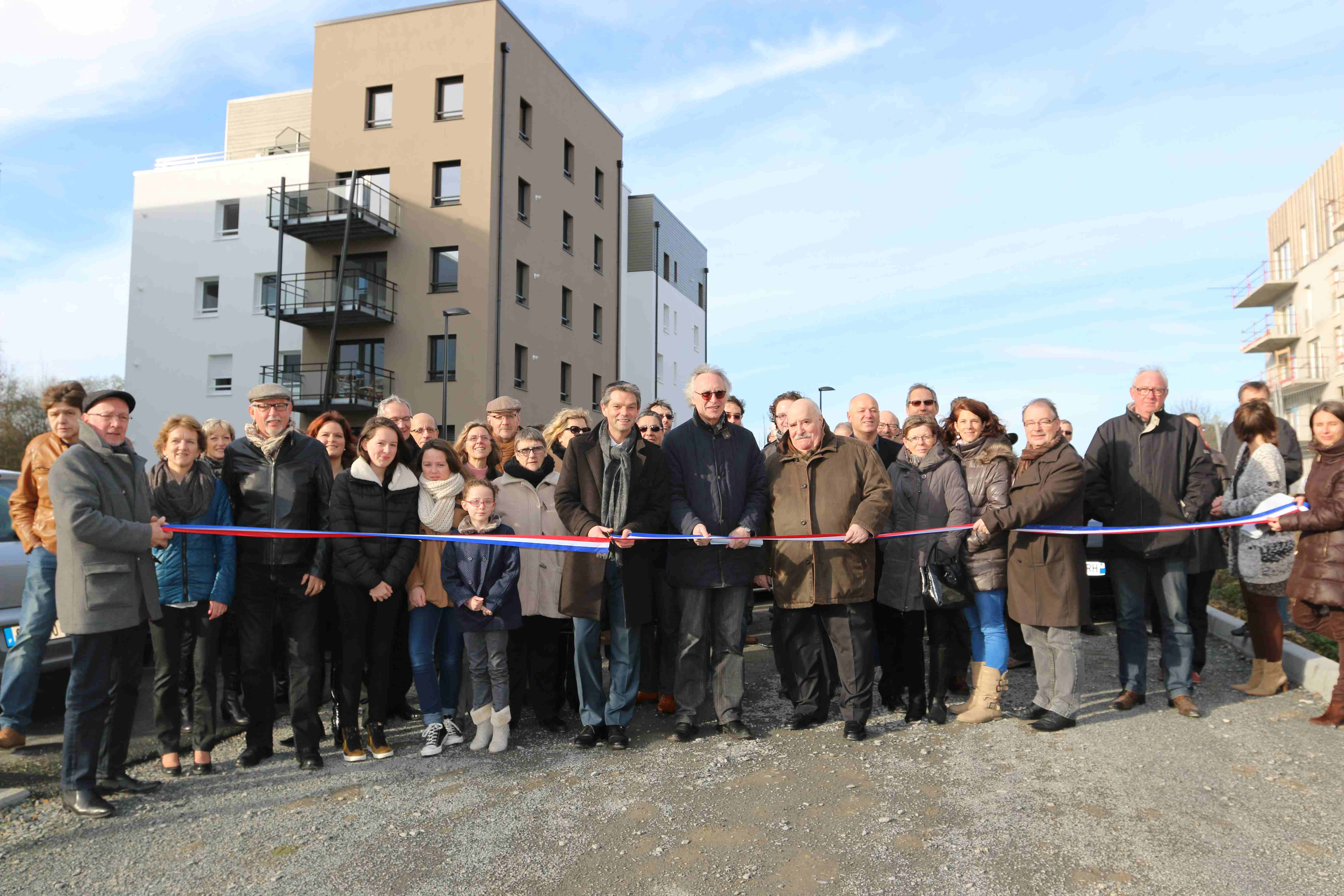 Inauguration immeubles Montmorency
