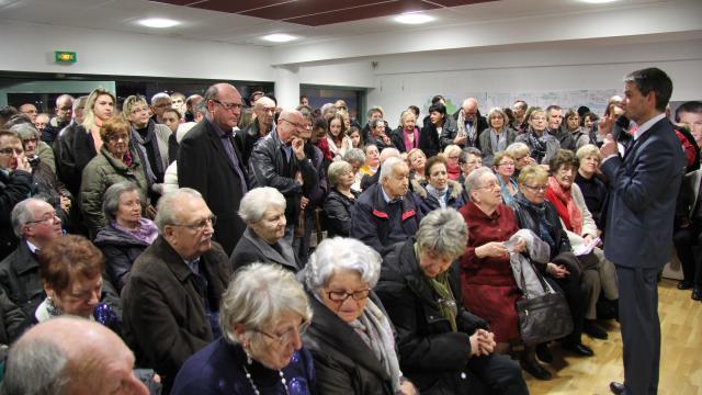 Rodolphe Thomas devant 200 personnes